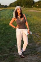 Primark necklace - Primark top - Primark pants
