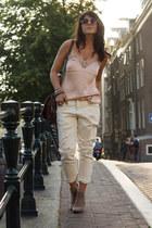 Mango jeans - H&M top
