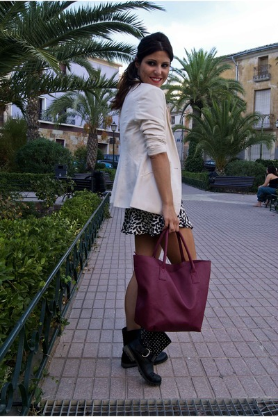 New Yorker blazer - Primark bag - Lefties skirt