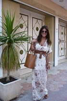 Lefties bag - Zara dress
