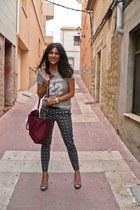 Primark bag - Zara t-shirt - suiteblanco pants