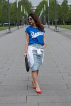 Pimkie skirt - Lefties t-shirt - Zara heels