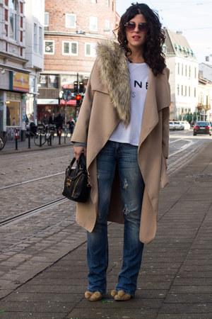 Stradivarius jeans - stole Primark scarf