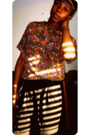harem pants pants - scarf - tribal print blouse