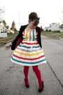 Modcloth-dress-h-m-blazer-american-apparel-tights-target-heels