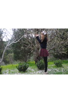 hair bow American Apparel accessories - tony bianco wedges - Ralph Lauren jumper