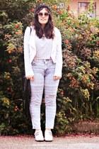 Zara jeans - River Island shoes - Bershka jacket - Zara shirt