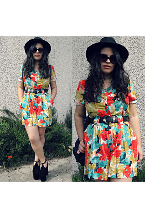 vintage romper - Boohoo shoes