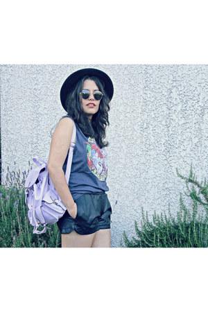 Front Row Shop shoes - Lookbook Store bag - OASAP shorts