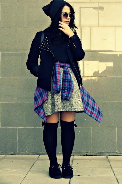 Primark shirt - Zara shirt - pull&bear coat