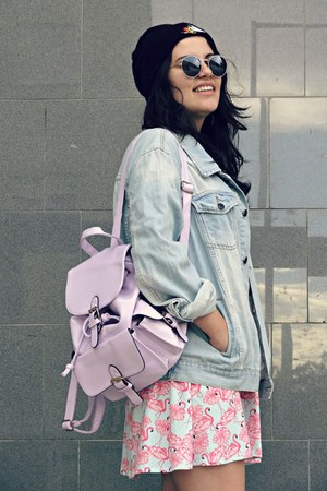 River Island shoes - Primark jacket - Lookbook Store bag