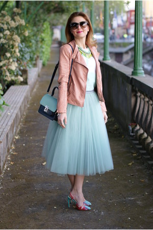 aquamarine Flique i underjorden skirt - navy Zara bag