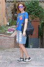 Blue-french-fries-blackfive-shirt-black-givenchy-bag-sky-blue-bershka-shorts