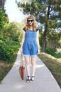 Straw-vintage-70s-bag-overalls-vintage-ll-bean-shorts