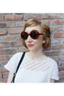 Gili-aldo-boots-cotton-gauze-thrifted-vintage-dress-mod-vintage-sunglasses