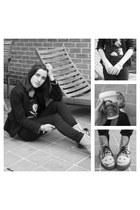 Zara blazer - Dr Martens boots - Mango shirt - Vero Moda pants