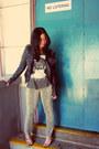 Forever-21-jacket-mossimo-pants-zara-top-zara-heels