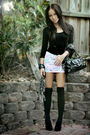Black-top-white-supre-skirt-black-razzamatazz-stockings-black-wildfire-sho