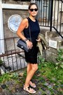 By-malene-birger-dress-zara-jacket-chanel-bag