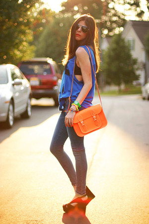 skinny jeans James Jeans jeans - fluorescent Cambridge Leather Satchel COMPANY b
