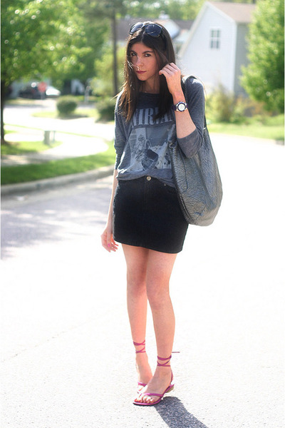 volcom bag - dior sunglasses - Costume National sandals - Chaser t-shirt - behna