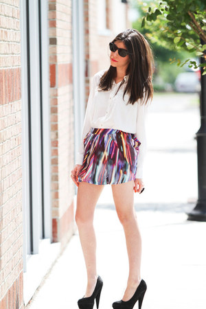 Style by Marina blouse - Style by Marina skirt - asos pumps