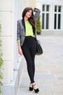 Neon-american-apparel-sweater-zara-blazer-alexander-wang-bag