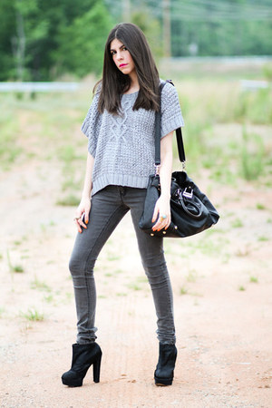 Senso boots - cheap mondays jeans - The Addison Story sweater