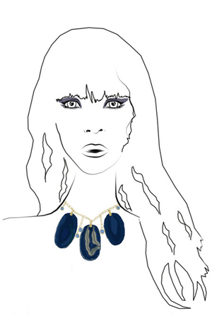 purple Femm necklace
