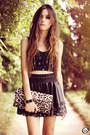 Black-2dayslook-top-black-goodnight-macaroon-skirt