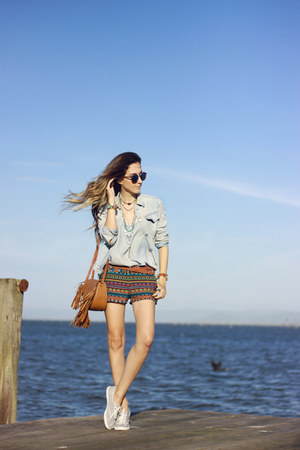 periwinkle Gap jacket