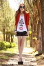 Romwe-blazer-ville-rose-t-shirt