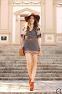 Charcoal-gray-displicent-dress