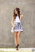 white Studio21 dress