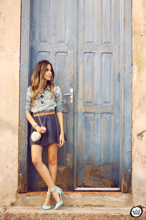 navy Antix skirt