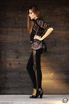 black Lança Perfume boots - black Lança Perfume blazer