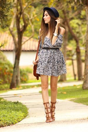 white Amaro dress