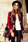 Brick-red-choies-coat-ivory-kodifik-jumper
