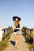 black Moikana top - black Moikana skirt