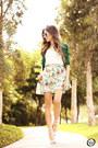 Ivory-antix-skirt