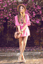 hot pink Displicent dress
