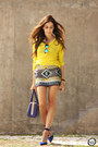 Yellow-iclothing-skirt