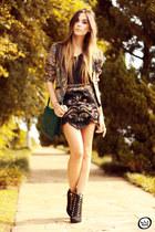 black MondaBelle skirt