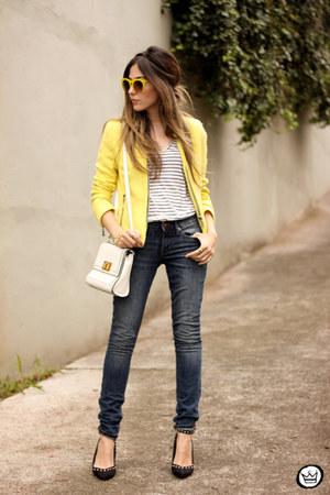 navy Gap jeans