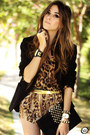 Black-iclothing-heels-brown-romwe-shirt-brown-joa-closet-shorts