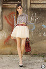 Brick-red-late-manta-bag-light-pink-minusey-skirt-silver-xiquita-bakana-top