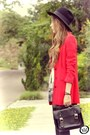 Black-chicwish-dress-red-brech-da-neide-coat-black-janelle-bracelet