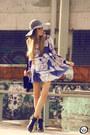 Navy-lafê-dress
