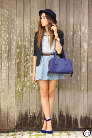 sky blue Eloecom skirt