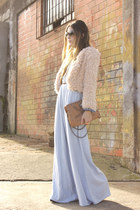 neutral Brech da Neide coat - sky blue Modaki pants